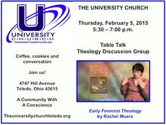 Join us for coffee, cookies and conversation at The University Church.  All are welcome.