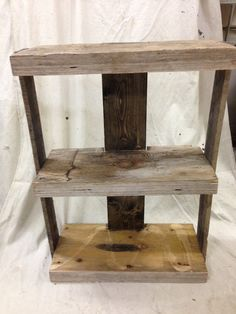 Rustic bookshelf by Trendywood on Etsy