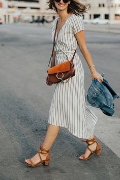7 Tips for Wearing a Wrap Dress All Summer Long via @PureWow