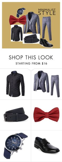 """""""Business Man"""" by distinctivelygiftedladyt on Polyvore featuring Lacoste, MANGO MAN, Joseph Abboud, men's fashion and menswear"""