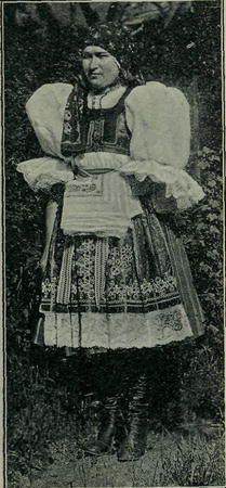 Casopis cesky lid X. Kroj ženský z Boršova u Kyjova