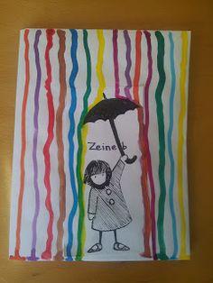 Laurène kindergarten: decoration of notebooks Back To School Art, School Fun, Kindergarten Art Projects, In Kindergarten, Kindergarten Decoration, Preschool Art, Craft Activities For Kids, Painting For Kids, Art For Kids