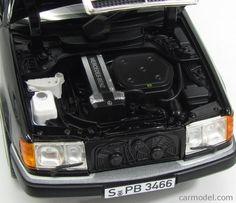 NOREV 183566 Масштаб 1/18  MERCEDES BENZ E-CLASS 300CE 24V CABRIOLET 1990 BLACK