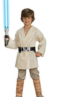 Deluxe Luke Skywalker Costume | Boys Star Wars Halloween Costumes