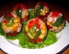 Заливные яйца ~~~ http://receptos.ru/zalivnye-yajca-ingredienty-5/