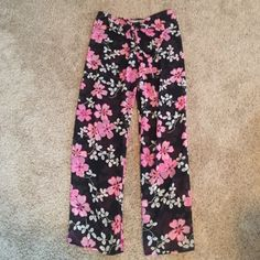 NWOT Victoria Secret Beach Pants Get summer started with these adorable beach pants from Victoria Secret. Ties in front, thin see through pants. Will look perfect with your swimsuit! Victoria's Secret Swim Coverups