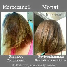 Experience the #MONAT difference. It's amazing how soft and vibrant your hair can be with just one use!  Juliarose.mymonat.com