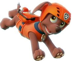 Paw Patrol Zuma Dog Iron on Transfer by DesignsByBrinley on Etsy, $2.50