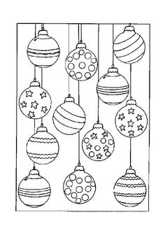 Home Decorating Style 2020 for Coloriage Boules De Noel, you can see Coloriage Boules De Noel and more pictures for Home Interior Designing 2020 2761 at SuperColoriage. Christmas Baubles, Christmas Colors, Christmas Art, Christmas Projects, Holiday Crafts, Christmas Holidays, Christmas Classics, Modern Christmas, Christmas Ornament Coloring Page