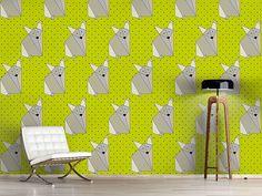 Design #Tapete Origami Fox Dot