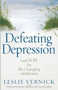 One in five women will experience clinical depression in her lifetime. Christian counselor and author Leslie Vernick offers words of hope and encouragement as she helps women understand the symptoms of depression, what causes depression, and what steps they can take to get better and grow stronger.  http://www.wtsbooks.com/product-exec/product_id/6136?utm_source=bdempsey_medium=blogpartners\