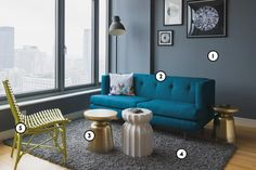 In the mood for a space change? No need to go out and buy all new furniture! Try painting first. A bold jewel tone palette can evoke cozy comfort; improve a relaxing den; or increase the lush factor in any room. What color is your favorite?
