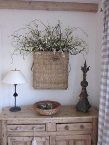 Why you really should hang baskets on your walls. - The Creek Line House