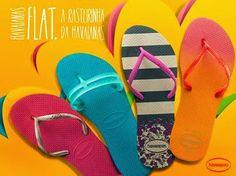 Havaianomaníacos: Havaianas coleção 2014: Havaianas Flat, as rasteirinhas de borracha.