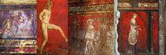 Afbeeldingsresultaat voor romeinse schilderkunst Pompeii, Roman, Red, Painting, Color, Painting Art, Colour, Paintings, Painted Canvas