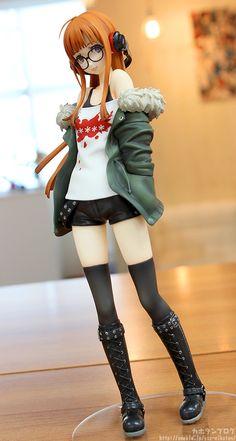 Directamente del popular RPG Persona 5 , Phat Company presenta la figura a escala que le dedican a Futaba Sakura . Persona 5, Figurine Anime, Otaku Anime, Chibi, Frame Arms Girl, Anime Toys, Figure Photography, Anime Merchandise, Doll Repaint