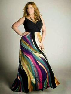 Art plus size maxi dress plus-size-fashion Dress Plus Size, Plus Size Maxi Dresses, Day Dresses, Plus Size Outfits, Dresses 2014, Mini Dresses, Wedding Dresses, Dresses Online, Evening Dresses