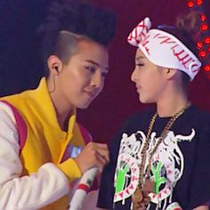 Look at the way they look each other Daragon Vip Bigbang, Daesung, Akdong Musician, Gd And Top, 2ne1, Bigbang G Dragon, Sandara Park, Concert Stage, Young Baby