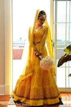 Perfect indian bride look.