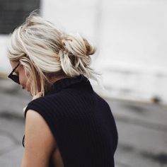 11 Instababes Who Will Make You Rethink Your Topknot With This 5-Minute Hairstyle via Brit + Co