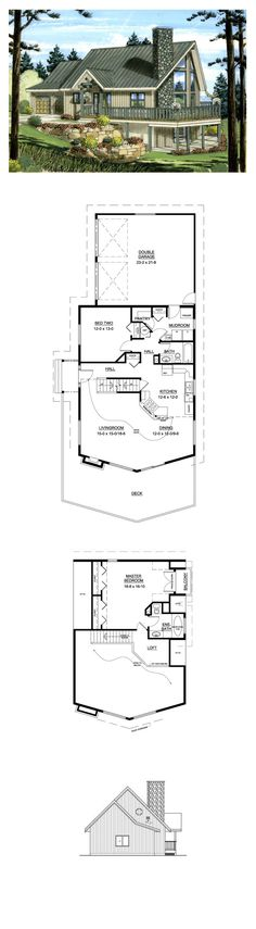 1000 Ideas About A Frame House Plans On Pinterest A