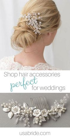 Find a bridal hair accessory perfect for your happily ever after ❤️