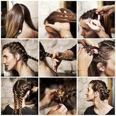 saç örgü modelleri ve yapılışları