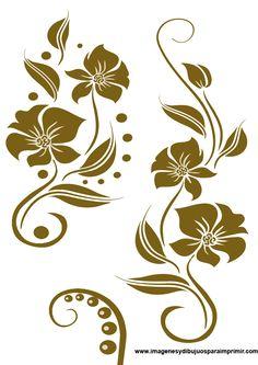 cenefas con flores                                                                                                                                                                                 Más
