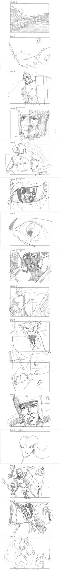 Storyboards By Storyboard Artist Cuong Huynh Got A Script ILl