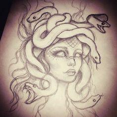 48 ideas for tattoo compass small tatoo - nisa Dark Art Drawings, Pencil Art Drawings, Art Drawings Sketches, Tattoo Sketches, Cool Drawings, Medusa Drawing, Medusa Art, Art Inspiration Drawing, Drawing Ideas