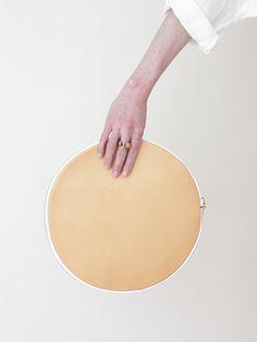 Otaat Drum Clutch - Veg tan « Pour Porter