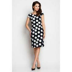 Looking for Dresses? Call off the search with our Navy Blue A Line Midi Dress With Contrast Dots. Shop unique fashion at SilkFred Day Dresses, Blue Dresses, Dresses For Work, Dot Dress, Dress Up, Simple Summer Dresses, Flattering Dresses, Lingerie, Blue Polka Dots