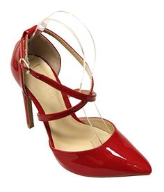 News Wild Diva Valerie-14 Women's pointy toe d'orsay high heel criss cross ankle strap patent pumps   buy now      very stylish,natural look sandalsSyntheticHeel Height Approx 4.25 inchespointy toeactual color may vary slightly due to computer dis... http://showbizlikes.com/wild-diva-valerie-14-womens-pointy-toe-dorsay-high-heel-criss-cross-ankle-strap-patent-pumps/
