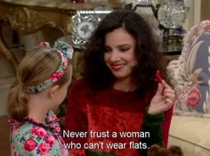 wisdom from The Nanny