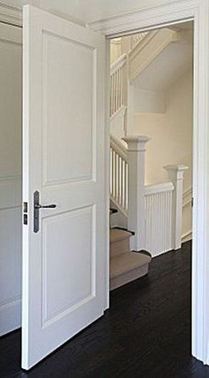 Interior Doors Ideas for Your Home Interior Doors Ideas for Your Home Interior Door Installation, 2 Panel Interior Door, Interior Door Styles, Interior Door Knobs, Door Design Interior, Interior Trim, Interior Barn Doors, Home Interior, Replacing Interior Doors