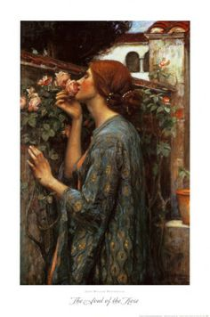 The Soul of the Rose, 1908    by John William Waterhouse Item #: 416980