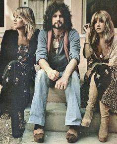 Christine McVie, Lindsey Buckingham and Stevie Nicks are three of the original members of Fleetwood Mac.