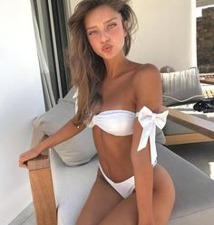 Cssayavi Hot bow tie Bikini 2017 Sexy Beach Swimwear Women Swimsuit Bathing Suit Brazilian Bikini Set Biquini maillot de bain