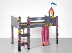 Hochbett fürs Kinderzimmer | gratis Baupläne und Anleitung