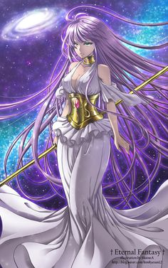 Sasha -saint seiya the lost canvas