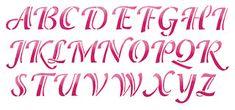 Calligraphy Alphabet : alphabet