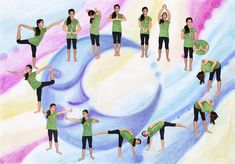 Easy to start Yoga For Kids, Yoga Poses, Exercise, Workout, Fitness, Cute, Sports, Games, Health