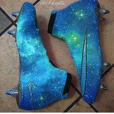 Dark Blue Galaxy Concept