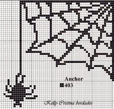 Ângela Bordados: Esse gráfico fica muito legal para acompanhar o homem aranha....