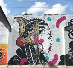 Miss Chelove aka Cita Sadeli CHELOVE for Art Basel 2017 in Wynwood Miami, FL, USA, 2017