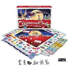 Christmas-opoly board game.  Xmas family fun