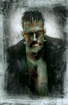 ben smith paintings | ... monster created by ben templesmith the artist is best known for 30