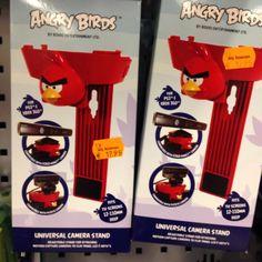 Angry Bird Camera holder