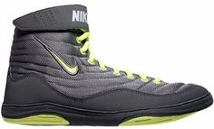 100% authentic 484d1 33b4a Nike Inflict 3 Cool Grey Volt  Dk Grey Anthracite. Nike Wrestling ShoesYour  ...