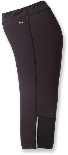 42.50 - REI Airflyte Running Capri Pants - Women's Plus Sizes at REI.com